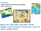Continents, Map Terms Power Point