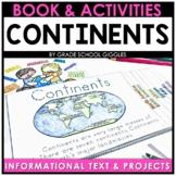 7 Continents Mini Book