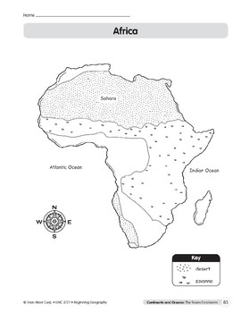 Continents & Oceans: Africa