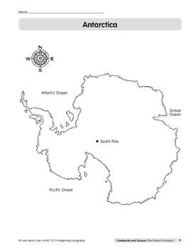 Continents & Oceans: Antarctica