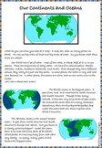 Continents/Oceans Article - Oceans