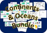 Continents/Oceans Bundle