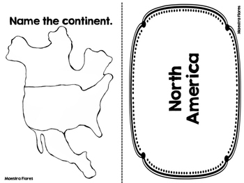 Continents/ Oceans/ Countries of North America (English version)