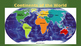 Continents, Oceans, Equator, Lines of Latitude and Longitude