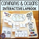 Continents & Oceans Lapbook