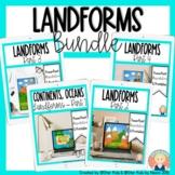 Landforms Bundle for Kindergarten and First Grade for At H