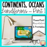 Landforms for Kindergarten and First Grade Part 1