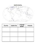 Continents Passport (Internet Research Activity)