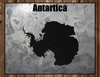 Continents Posters