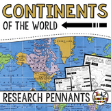 Continents Research Pennants