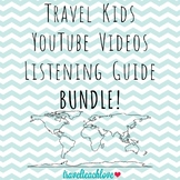 Continents Travel Kids Listening Guide BUNDLE