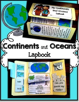 Geography teaching resources lesson plans teachers pay teachers continents and oceans continents and oceans freerunsca