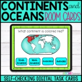 Continents and Oceans Quiz BOOM™ Cards