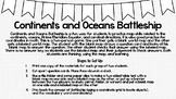Continents and Oceans Battleship-Style Game