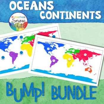 Continents and Oceans Bump Game Bundle