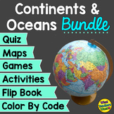 Continents and Oceans Bundle