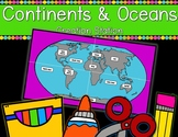 Continents & Oceans {Creation Station}