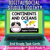 Continents and Oceans Digital Social Studies Toothy® Task