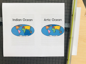 Continents and Oceans Flashcards