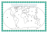 Continents and Oceans Mapping