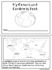 Continents and Oceans Mini Booklet and Worksheets