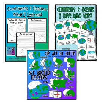 Continents and Oceans Mini Bundle