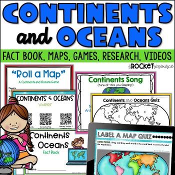 Continents and Oceans Mini-Unit