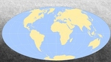 Continents and Oceans Power Point and Interactive Quiz