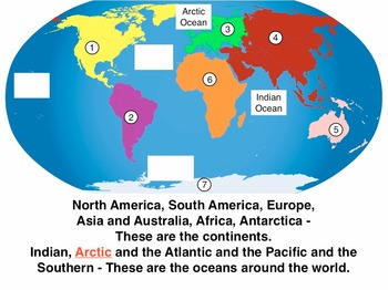 Continents and Oceans Song mp4 Video/Movie Download and Test by Kathy Troxel