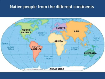 Continents and native inhabitants