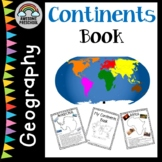 Continents fact book -Geography