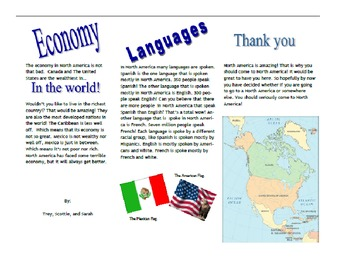 Continents of the World Project
