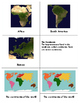 Continents: Three Part Cards