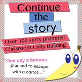 107 Continue the Story (Story Building Exercises)