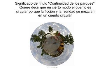 Continuidad de los parques por Julio Cortázar