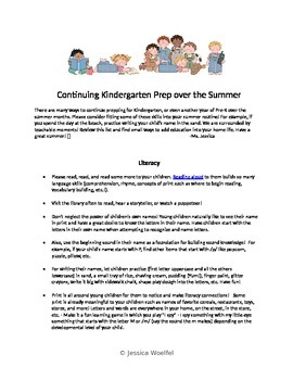 Continuing Education Through Summer - Advice to Parents