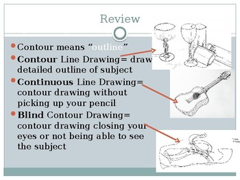 Continuous Line Drawing Powerpoint