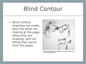 Contour Drawing Presentation