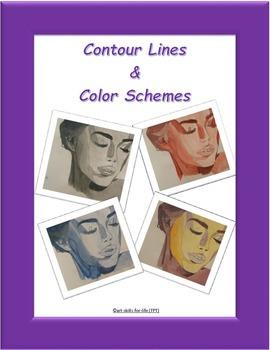 Contour Line - Art Project