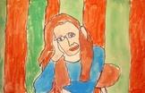 Contour Line Portraits {MrsBrown.Art}