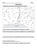Contour Lines Worksheets (Topographic Maps)