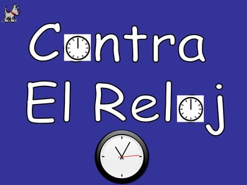Contra El Reloj - Spanish Beat the Clock Game - Best Seller