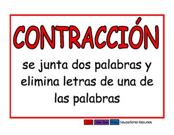 Contraccion rojo