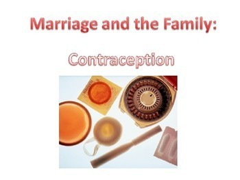 Sex Education - Moral and Religious Viewpoints on Contraception Methods STI STD