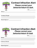 Contract Infraction & Pink Slip