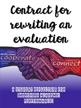 Contract for Rewriting an Evaluation - Self-Evaluation