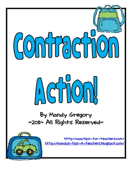 "Contraction Action: Contraction Games Focusing on ""Not"" and ""Will"""