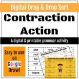 Contraction Action: Digital Sort Activity