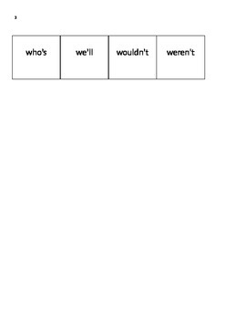 Contraction Action Freebie