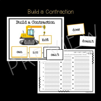 Contraction Action Sorts, Games, and More